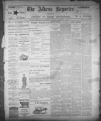 Athens Reporter and County of Leeds Advertiser (18920112), 3 Jul 1894