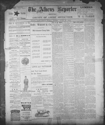 Athens Reporter and County of Leeds Advertiser (18920112), 31 Jul 1894