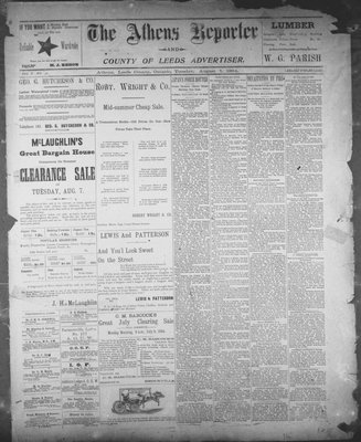 Athens Reporter and County of Leeds Advertiser (18920112), 7 Aug 1894