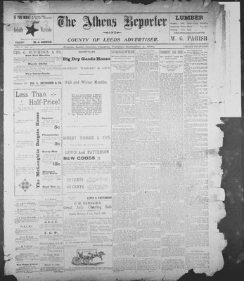 Athens Reporter and County of Leeds Advertiser (18920112), 4 Sep 1894