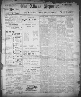 Athens Reporter and County of Leeds Advertiser (18920112), 11 Sep 1894