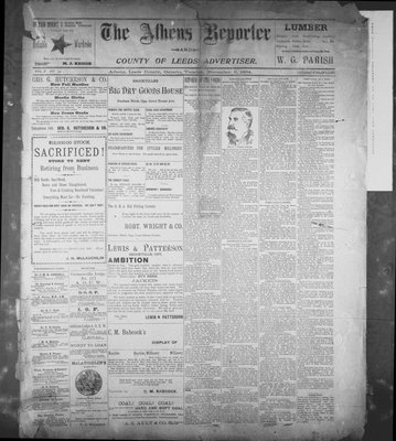 Athens Reporter and County of Leeds Advertiser (18920112), 6 Nov 1894