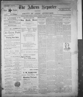 Athens Reporter and County of Leeds Advertiser (18920112), 8 Jan 1895