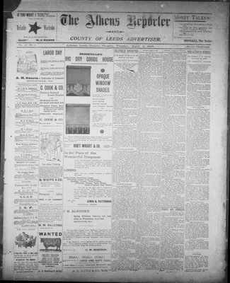 Athens Reporter and County of Leeds Advertiser (18920112), 2 Apr 1895