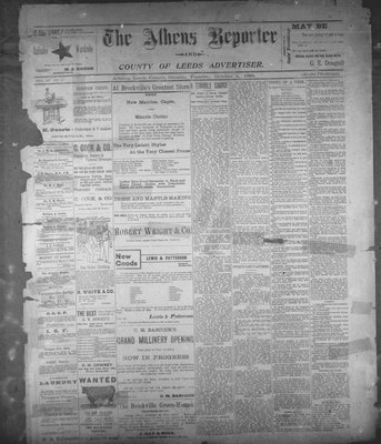 Athens Reporter and County of Leeds Advertiser (18920112), 1 Oct 1895