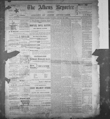 Athens Reporter and County of Leeds Advertiser (18920112), 8 Oct 1895