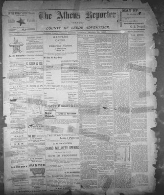 Athens Reporter and County of Leeds Advertiser (18920112), 22 Oct 1895