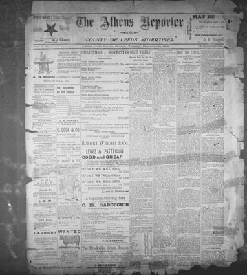 Athens Reporter and County of Leeds Advertiser (18920112), 10 Dec 1895