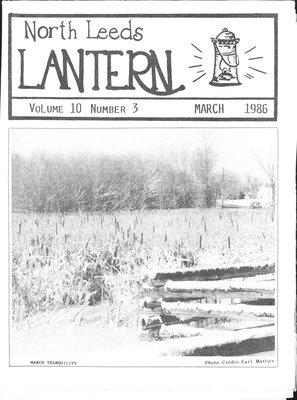 Northern Leeds Lantern (1977), 1 Mar 1986