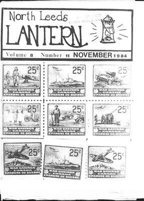 Northern Leeds Lantern (1977), 1 Nov 1984