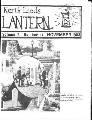 Northern Leeds Lantern (1977), 1 Nov 1983