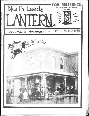 Northern Leeds Lantern (1977), 1 Dec 1978