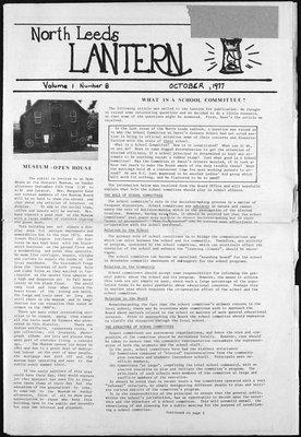 Northern Leeds Lantern (1977), 1 Oct 1977