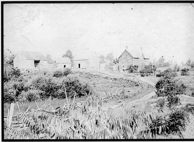 York (Muldoon) homestead, California near Jones Falls Ontario c.1895