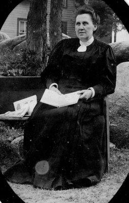 Martha Tackaberry Alford wife of Philander Alford, lockmaster at Davis Lock