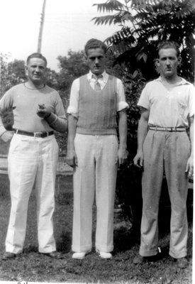 Allan, Mickey and Fred Alford c.1940