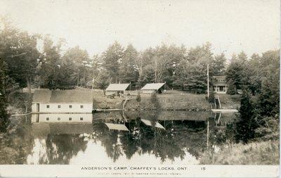 Anderson's Camp Chaffey's Lock c.1925