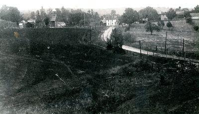 Village of Morton looking north c.1935