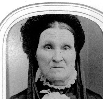 Member of Pennock family of Elgin c.1875