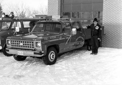 South Crosby Fire truck c.1972