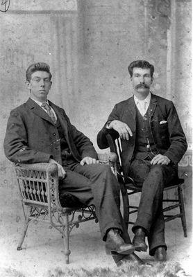 John and Elswood Joynt c.1900
