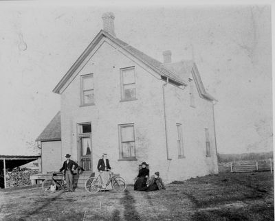 Martin House built c.1894 located on the Brockville Road in South Elmsley