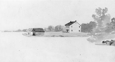 Oliver's Ferry c.1850