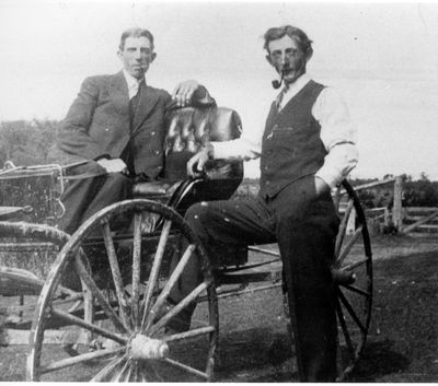 Steacy Moorhouse and Fred J. Kelley c.1905
