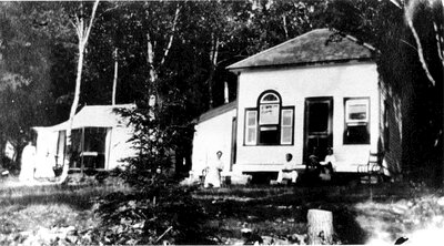 Lewis Cottage on Petty's Bay Big Rideau