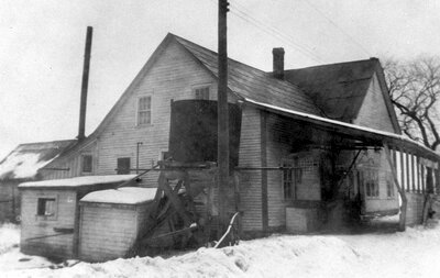 Otter Creek Cheese factory after 1940