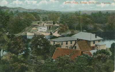 Jones Falls and Hotel Kenney