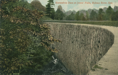 Horseshoe Dam at Jones Falls