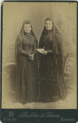 Margaret Kennedy Murphy and Elizabeth Kennedy Hoben