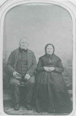 Philemon Pennock and his wife Chloe Brown Pennock