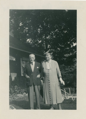 Agnes Richardson Etherington and father George Richardson