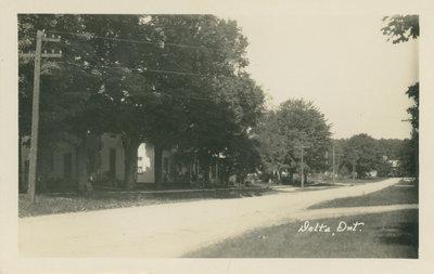 Delta Street Circa 1920-1940