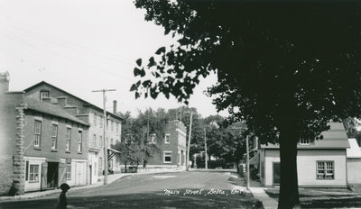 Main Street Delta in 1930
