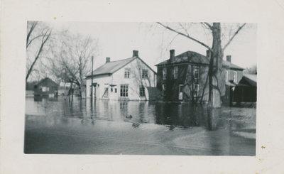 Flood on Main Street, Delta c.1935
