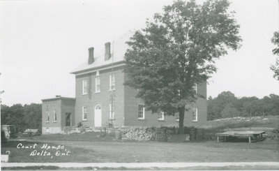 Delta Town Hall c.1920