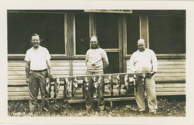 Fishermen Near Delta, Ontario