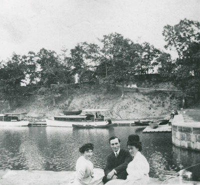 Group at Jones Falls Circa 1910