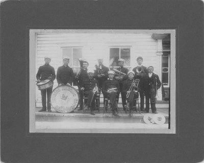 Newboro Masonic Brass Band c.1912
