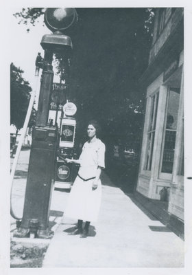 Gas Pump on Drummond Street Newboro