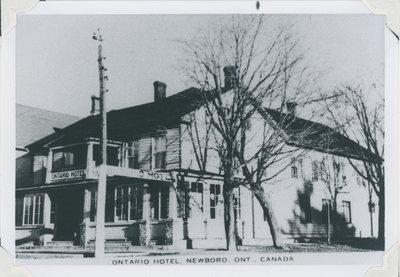 Ontario Hotel, Newboro Ontario