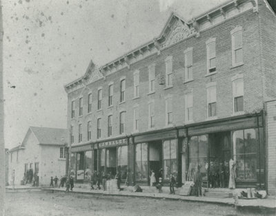R. J. Whaley store in Delta c. 1890.