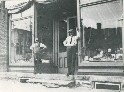 Store front in Delta, c.1925