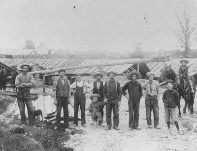 W. Chase's Brickyard c.1908 Philipsville