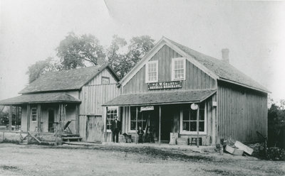 J.W. Chant Store, Harlem, Ontario c.1908