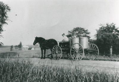 Hugh Morrison on Milk Delivery