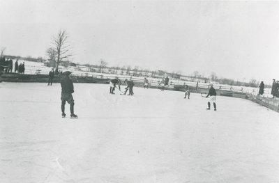 Hockey on the Philipsville Rink